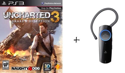 Uncharted 3 + neues PS3 Headset (2011) für 65,50€ vorbestellen *Update* inkl. Pre-Order Bonus-Inhalte