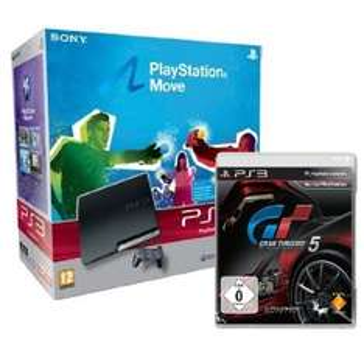 Nur heute: PlayStation 3 + Move + Gran Turismo 5 für 286€ statt 339€