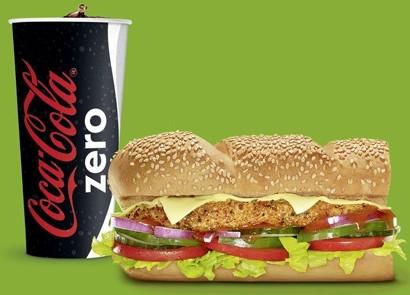 Softdrink 0.5 l kostenlos zu jedem 15cm Subway Sandwich