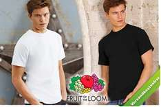 10 Fruit of the Loom T-Shirts für 20 Euro