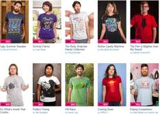 Threadless Sale - ab 10€ pro T-Shirt *Update* 5$ Gutschein auf Facebook