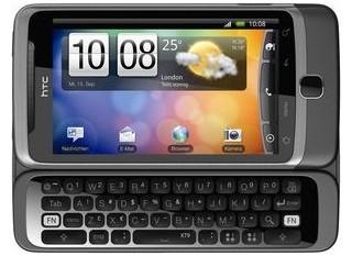 HTC Desire Z (Android Smartphone mit Volltastatur) für 249€ statt 301€ bei Hofer