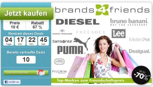 20€ Brands4Friends Rabatt + DailyDeal Summer Sale