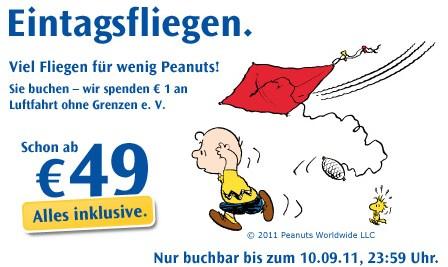 Flugaktionen: Airberlin Jubelpreise und Condor Eintagsfliegen