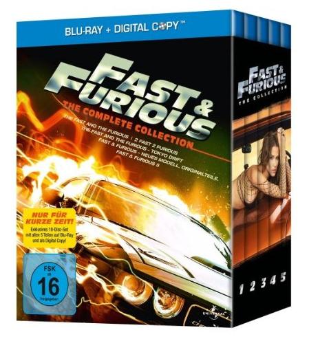 """Fast & Furious Collection (1-5) für 31,97€ - Tag 4 Amazon """"Herbstschnäppchen"""""""