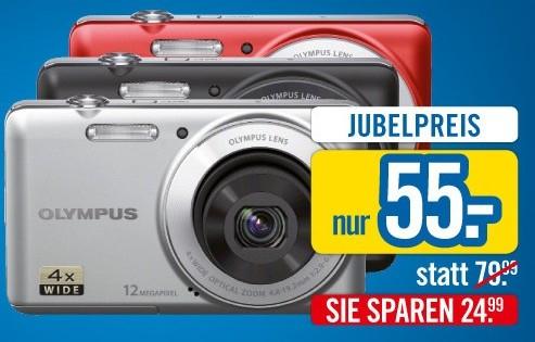 Olympus VG-110 (Einsteigerkamera) für 55€ statt 66€ bei Niedermeyer