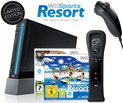 Nintendo Wii schwarz für 119€ statt 134€ bei Ebay