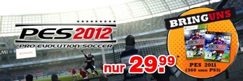 FIFA 12 und PES 2012 Vorbestellaktionen bei Gamestop
