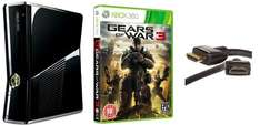 XBox 360 250GB + Gears of War 3 für 216 Euro
