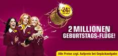 Germanwings 2 Millionen Flüge für 24,99€ (u.a. nach Rom, Venedig, London)