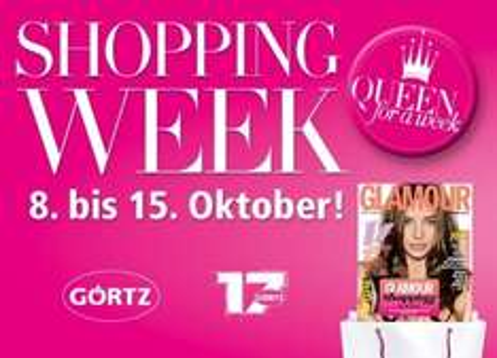Glamour Shopping-Week 2011 - Rabatte in vielen Geschäften (online und offline) bis 15. Oktober