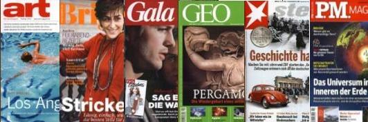 GEO 7,80€, Brigitte 12,80€ und weitere günstige Zeitschriften im Gruner+Jahr Herbst-Countdown