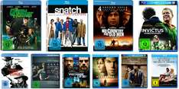 3 Blu-rays für 25 Euro - Diesmal mit sehr großer und guter Auswahl