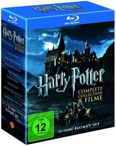 Harry Potter - Complete Collection 8 Filme als Blu-ray für ~38€ bei Amazon.co.uk vorbestellen