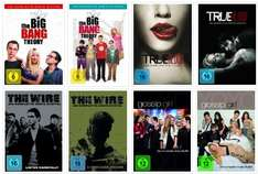 TV-Serien für je 9,99€ bei Amazon - The Big Bang Theory, The Wire, True Blood und Gossip Girl