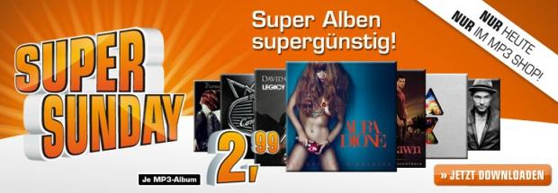 MP3-Alben (Neuerscheinungen) heute für je 3€ bei Amazon und Saturn