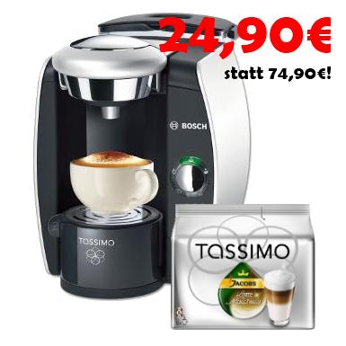 Knaller: Wieder da! Bosch Tassimo (TAS42) für nur 24,90€ statt 75€! *Update*