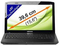 "Medion Akoya P6630 Notebook (15.6"", Core i3, 4GB, GeForce GT540M) für 399€"
