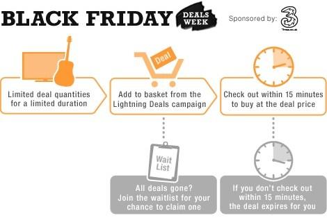 Amazon UK: Black Friday Deals Week startet *UPDATE* heute der letzte Tag