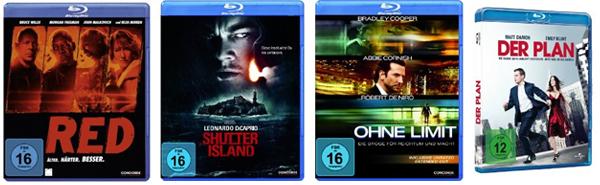 4 Blu-rays für 30 Euro (mit neuen Filmen)