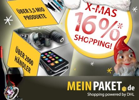 16% MeinPaket Gutschein - Sony Playstation für 189 Euro
