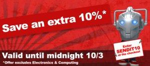 10% Rabatt bei SendIt für 24 Stunden