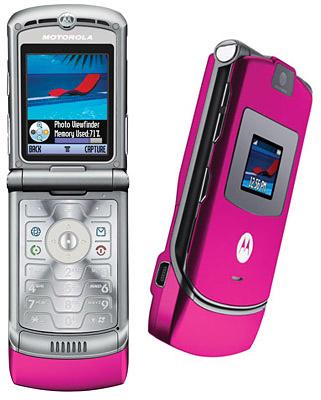 Motorola RAZR V3 mit CallYa Prepaidkarte für 36€