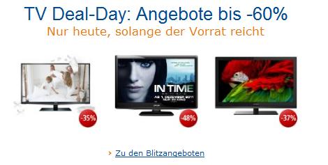 Heute: TV Deal-Day bei Amazon *Update*