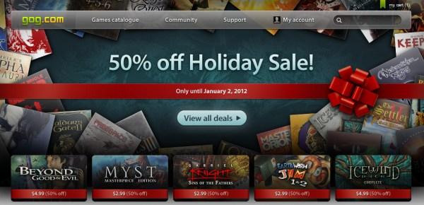 """50% Rabatt auf alles bei """"Good old games"""" - Fallout 2 für 2,40€, Baldurs Gate 2 (+Addon) für 4€, ..."""