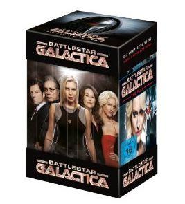 Battlestar Galactica - Die komplette Serie für 30€ (DVD)