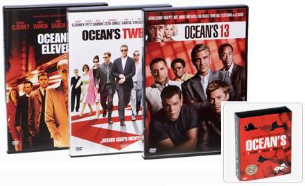 [DVD] Ocean's DVD Trilogie für 9€ bei Tchibo