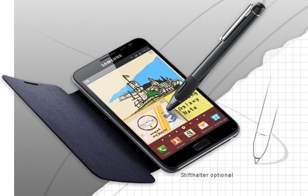 Kostenloses Flip Cover für das Samsung Galaxy Note