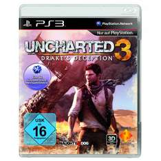 Uncharted 3: Drake's Deception für 30 Euro