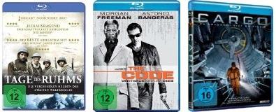 Blu-ray-Aktion bei Müller - Filme für 4,99 € und Konter von Amazon