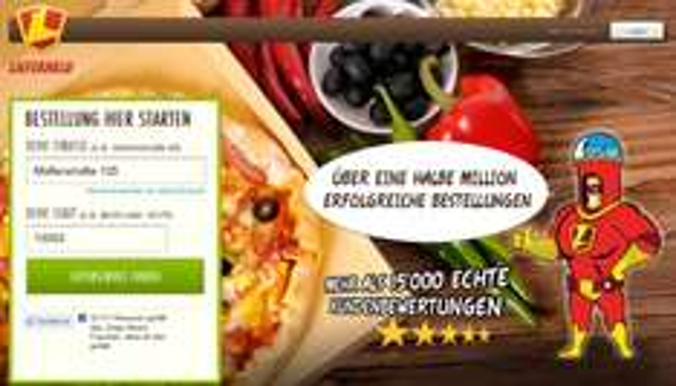 Lieferheld Gutschein: 5 Euro mit 10 Euro MBW (auch für Bestandskunden)