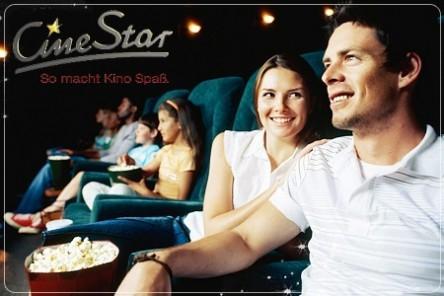 4 CineStar-Kinokarten und 4 Mal Popcorn für 28 Euro