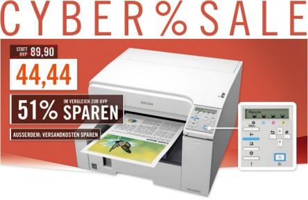 Gel-Drucker Ricoh Aficio GX e2600 für 44,44 € - 41 Prozent Ersparnis