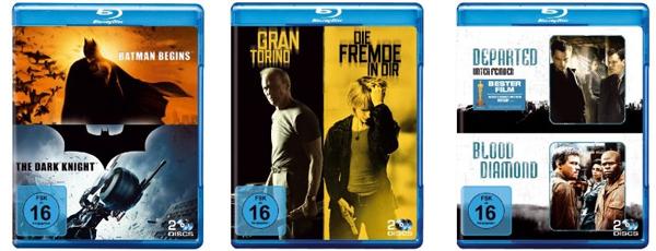 Blu-ray Doppelboxen für 17 Euro bei Amazon *Update* jetzt für 15 €
