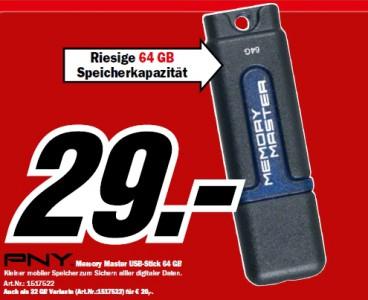 Günstige Technik-Angebote bei Media Markt - z.B. 64 GB SSD für 49 €