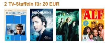 DVD-Schnäppchen: 2 TV-Staffeln für 20 € bei Amazon