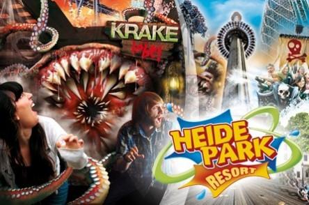 2 Tage im Heide-Park Soltau inklusive Eintritt & Übernachtung für 26 €