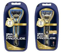 Gillette Fusion ProGlide Golden Edition ab 3,45 € bei Amazon