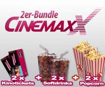 2 Cinemaxx-Kinotickets inkl. Popcorn & Softdrink für 20,61€ - bis 11 Uhr