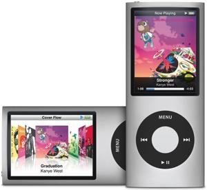 Apple iPod Nano (4G) 4GB für 99€