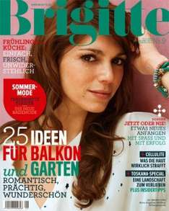Jahresabo der Zeitschrift Brigitte für effektiv 18 € - mit BestChoice-Gutschein