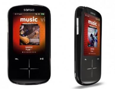 Multimedia-Player SanDisk Sansa Fuze+ mit 8 GB + 8 GB Speicherkarte für 56 € statt 77 €