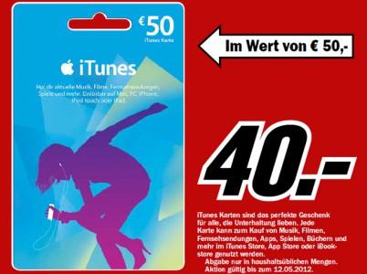 Media Markt: Gaming-Tastatur Logitech G105 mit 50% Rabatt & iTunes-Karten mit 20% Ersparnis