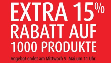 MandMDirect: 15% Extra-Rabatt auf 1000 Produkte & zusätzlich 20% sparen mit Gutschein