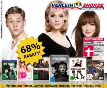 40 € Gutschein für Verleihshop.de für 12,50 € bei DailyDeal *Update* jetzt für 7,50 €