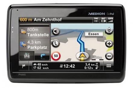 Navigationssystem Medion GoPal P4445 EU für 99,99 € *Update* jetzt GoPal E4445 für 97,05 €